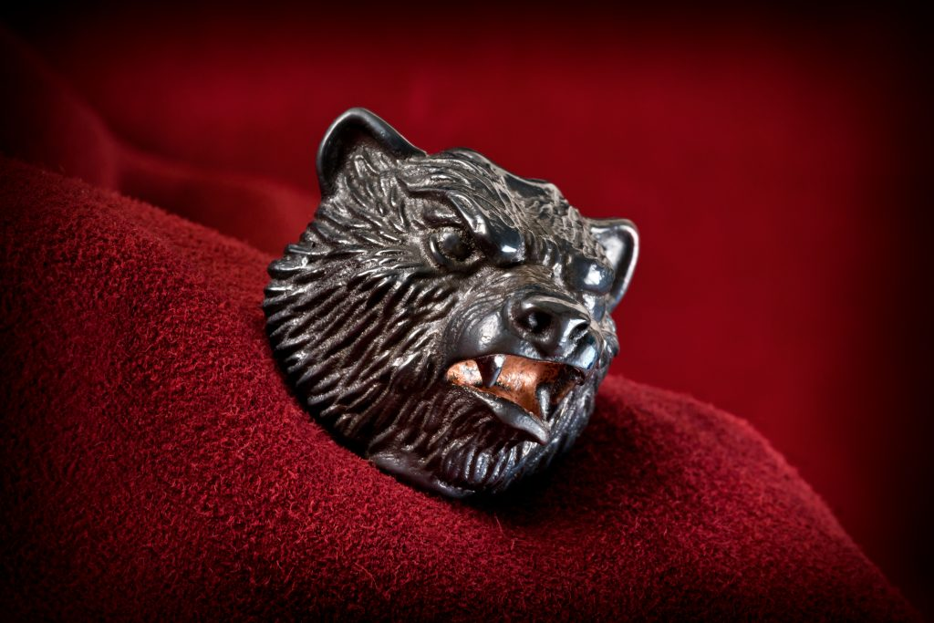 Big titanium bead — Vasyan bear