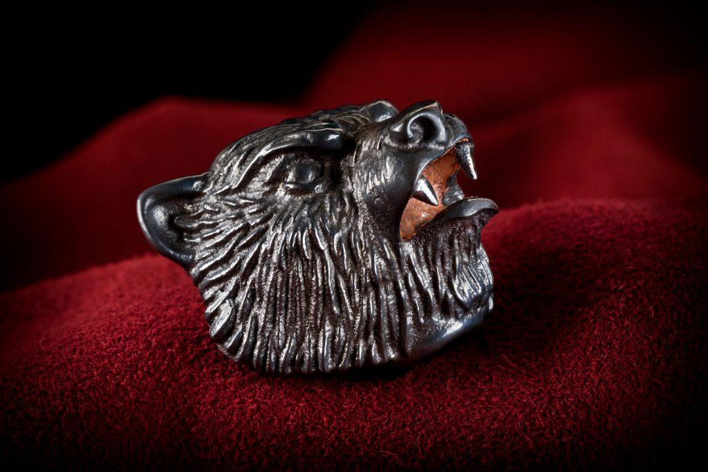Big titanium bead - Vasyan bear