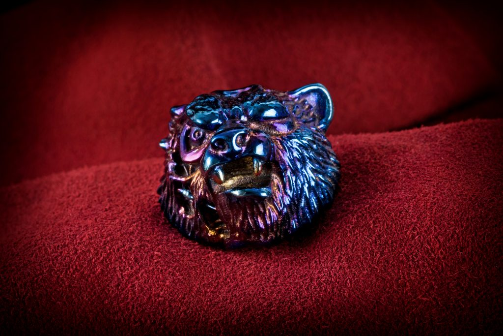 Vasyan Terminator - limited edition titanium bead